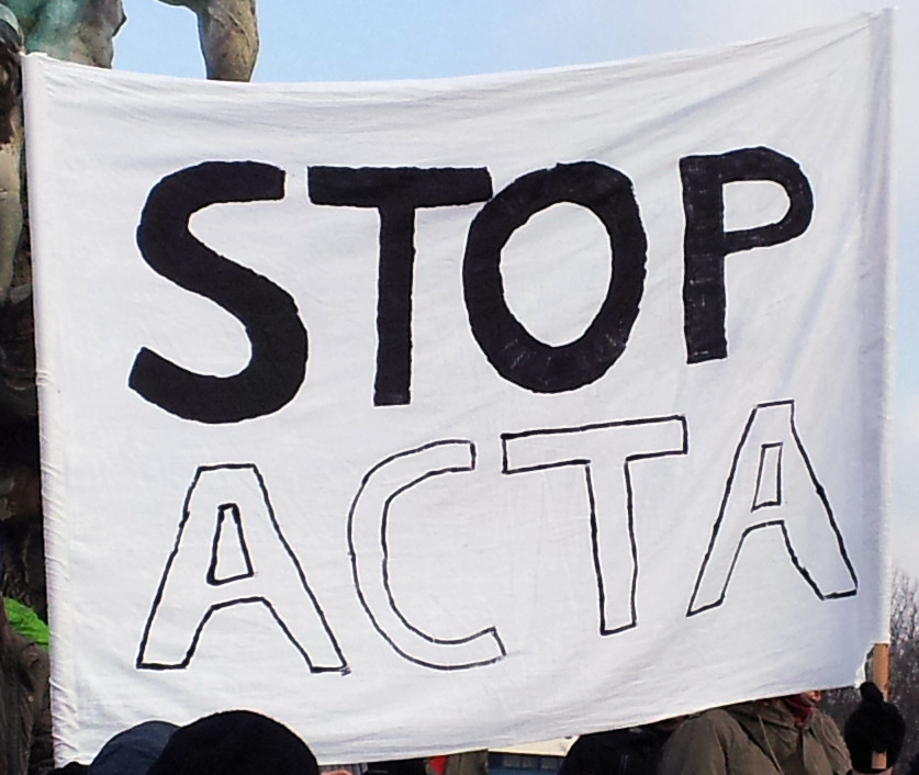 Anti-ACTA-Demo Berlin