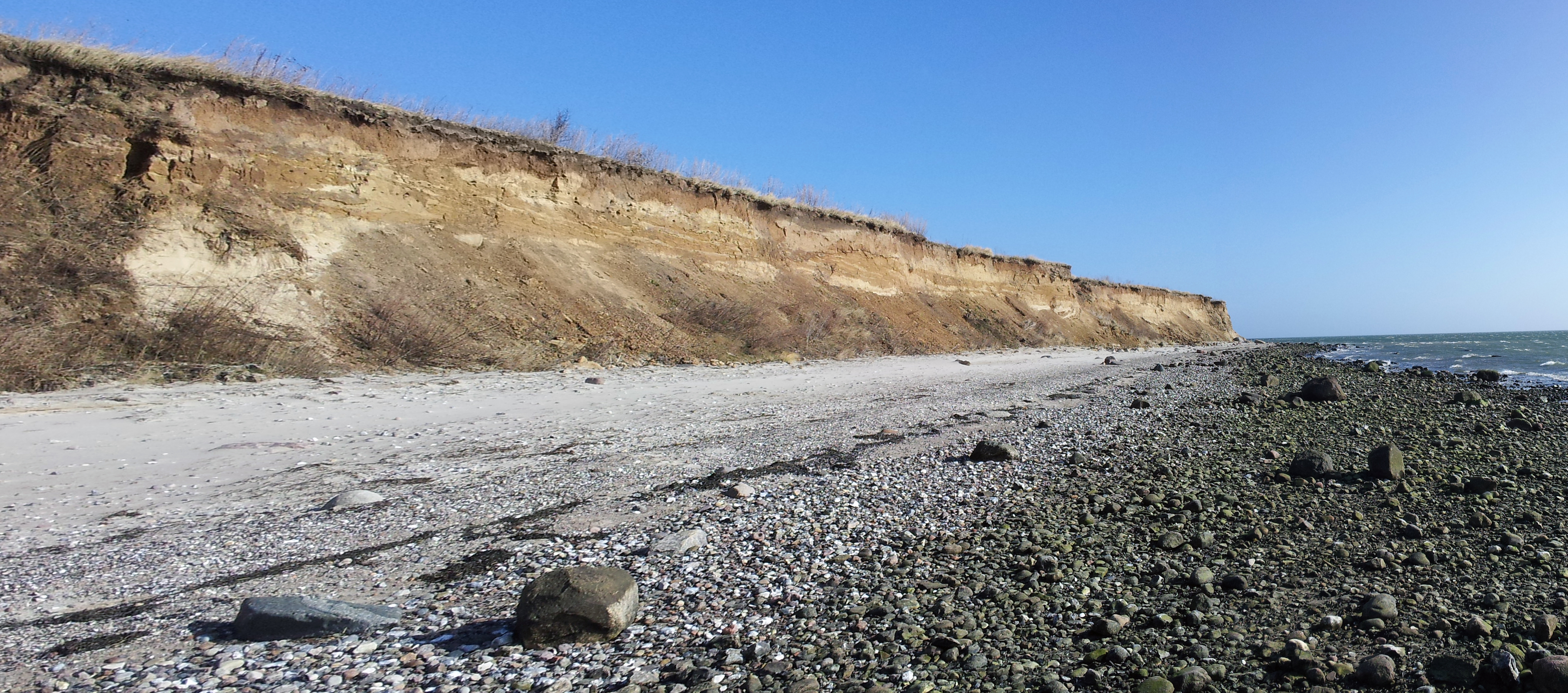 Steilküste Wulfener Hals